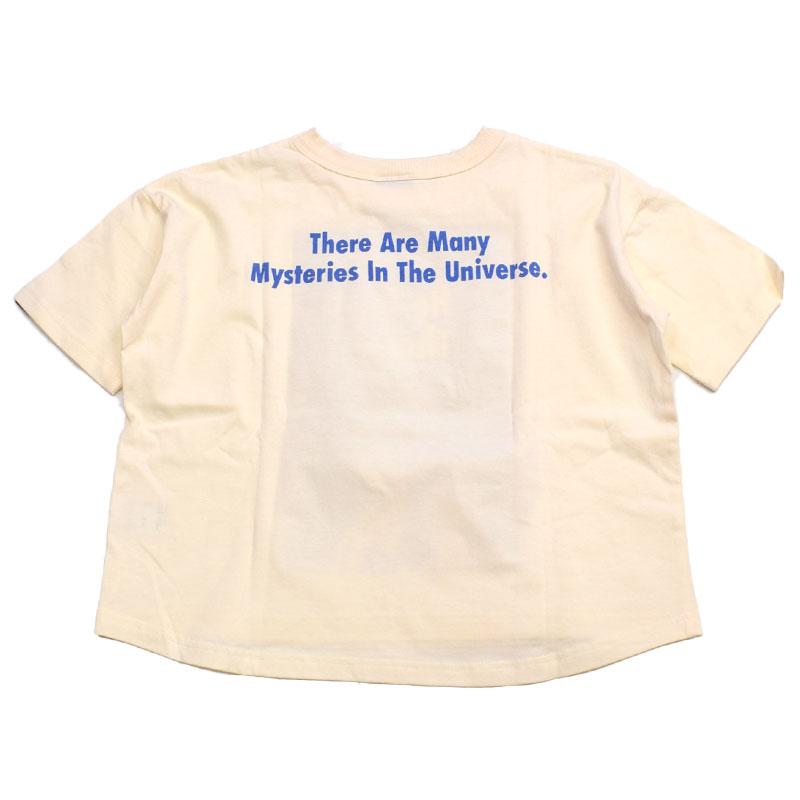 ニードルワークス Has He Gone There Tシャツ オフホワイト