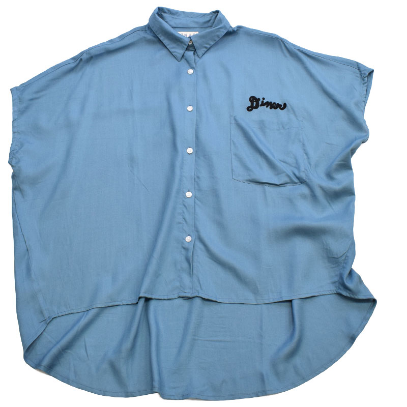 ライム LIME レディース バックロングシャツ 21044651