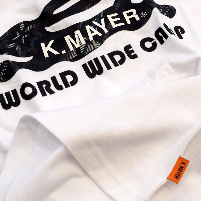 クリフメイヤー キッズ ネイティブ柄ロゴ Tシャツ ホワイト 2047216