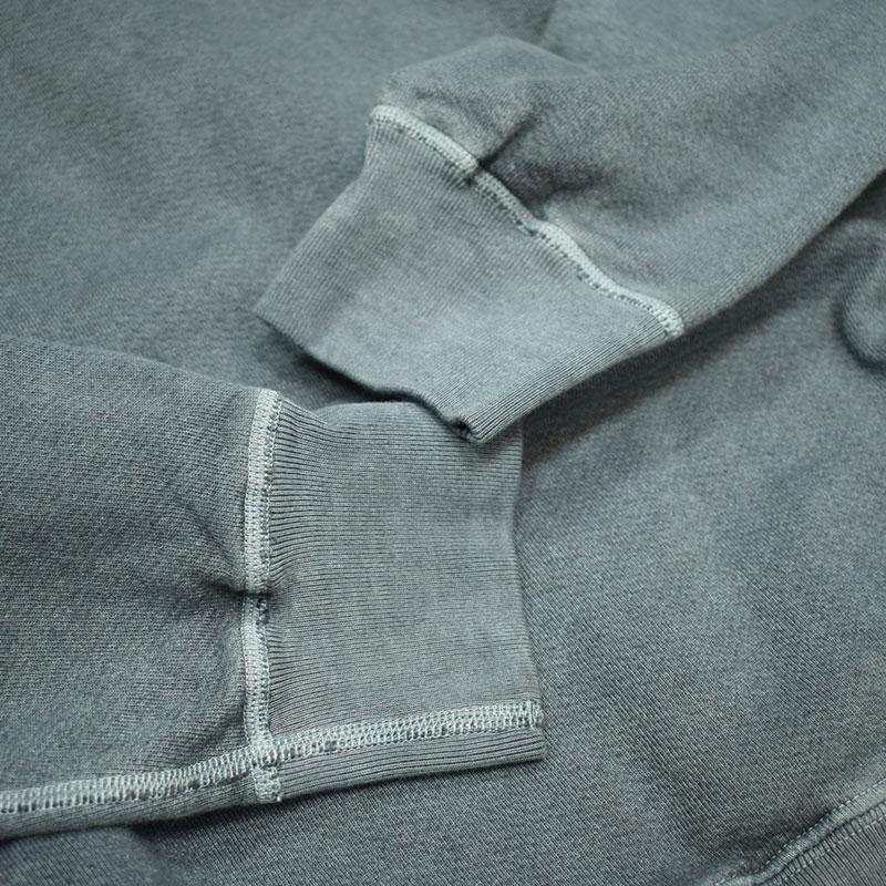 グッドオン GOODON ラグランクルースウェットシャツ P-スレート