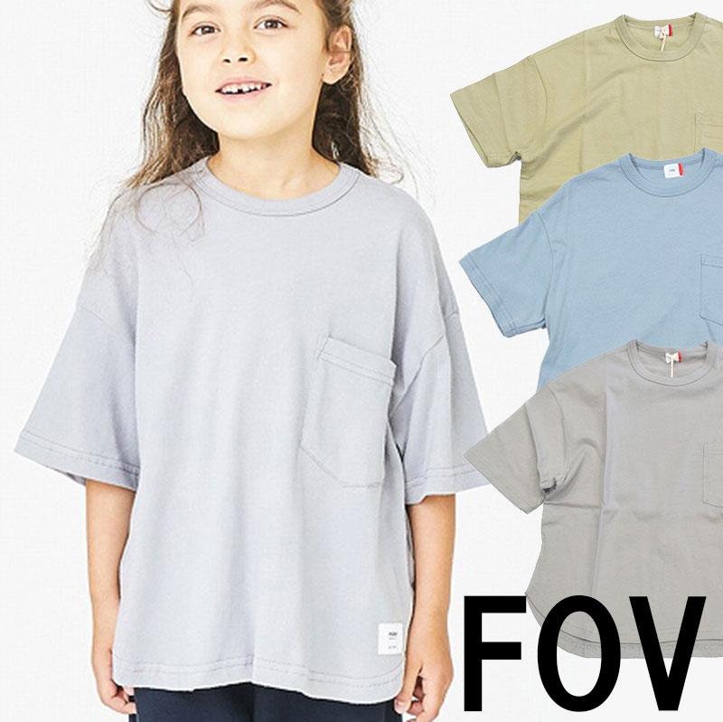 フォブ ポケット6分丈Tシャツ