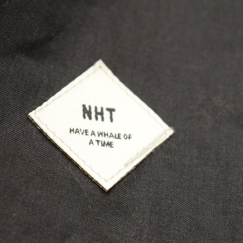 NHT ニコフラート キャミフリルワンピース ブラック