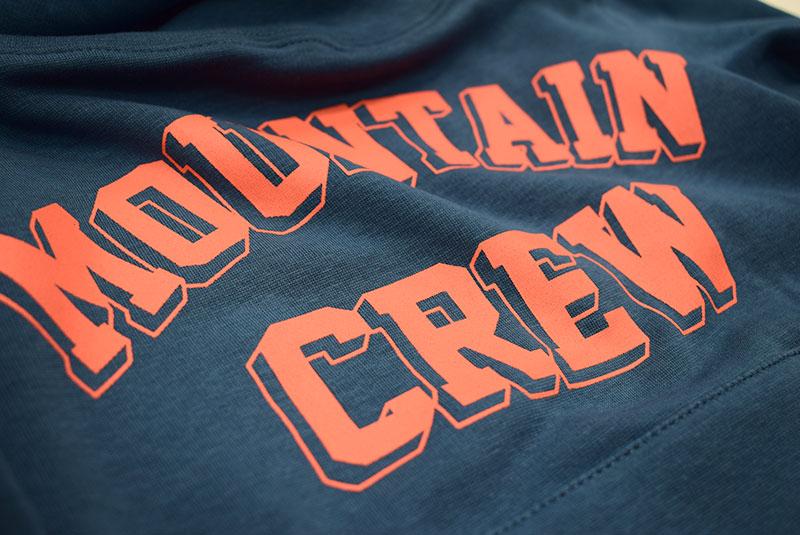 オフィシャルチーム MOUNTAN CREW WARM HOODIE ネイビー 1221223