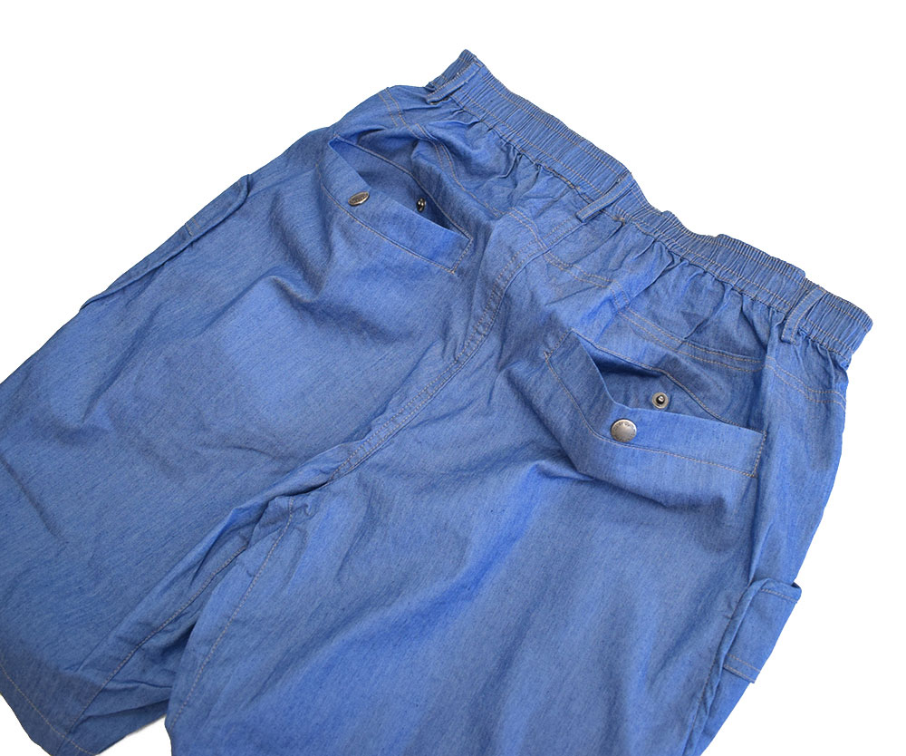 ジムマスター ドロップポケットデニムショーツ ブルー 56 G257653