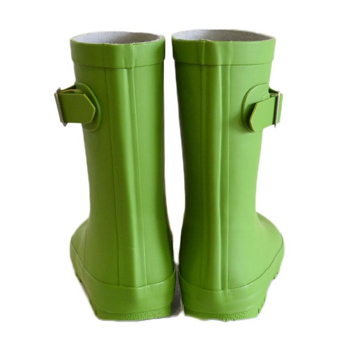オーシャンアンドグラウンド レインブーツ 長靴 ライトグリーン