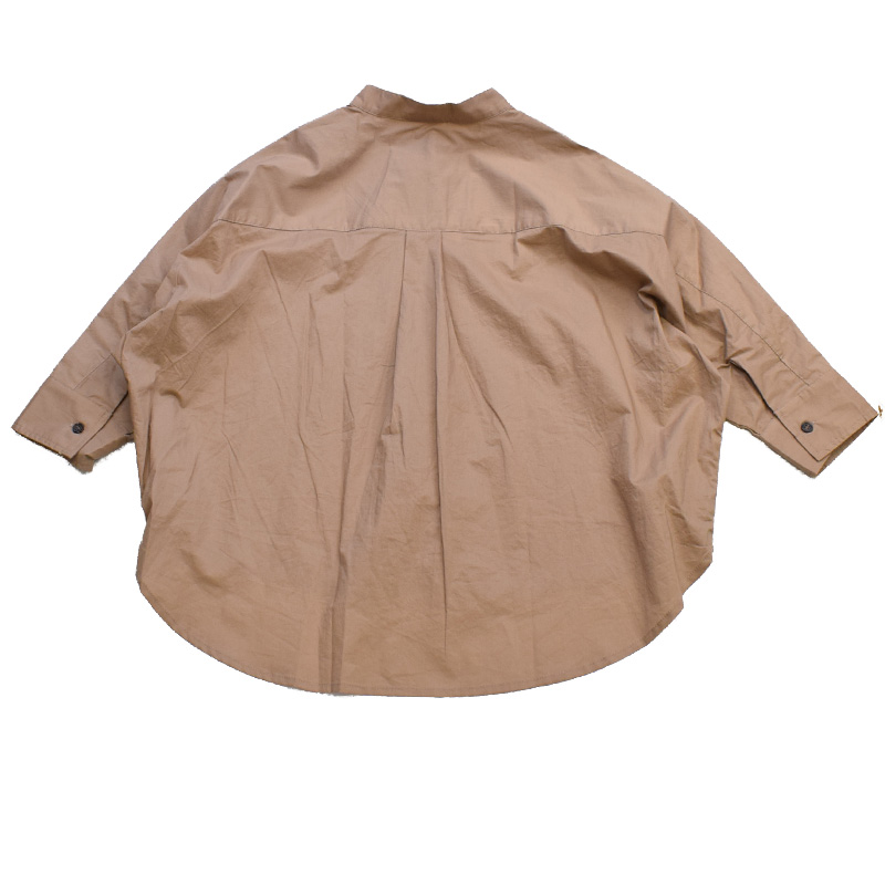 ニードルワークス Big Shirt ベージュ