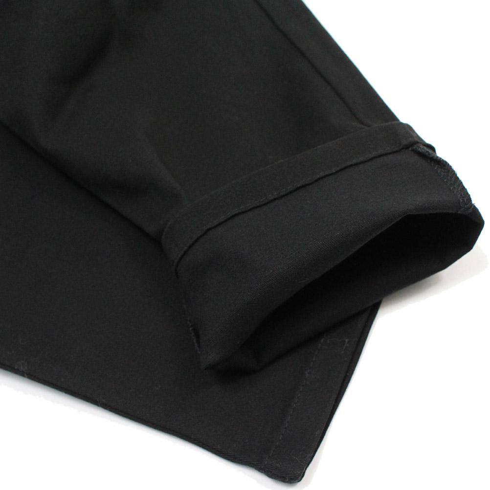 ジェネレーター 2タックロングパンツ ブラック