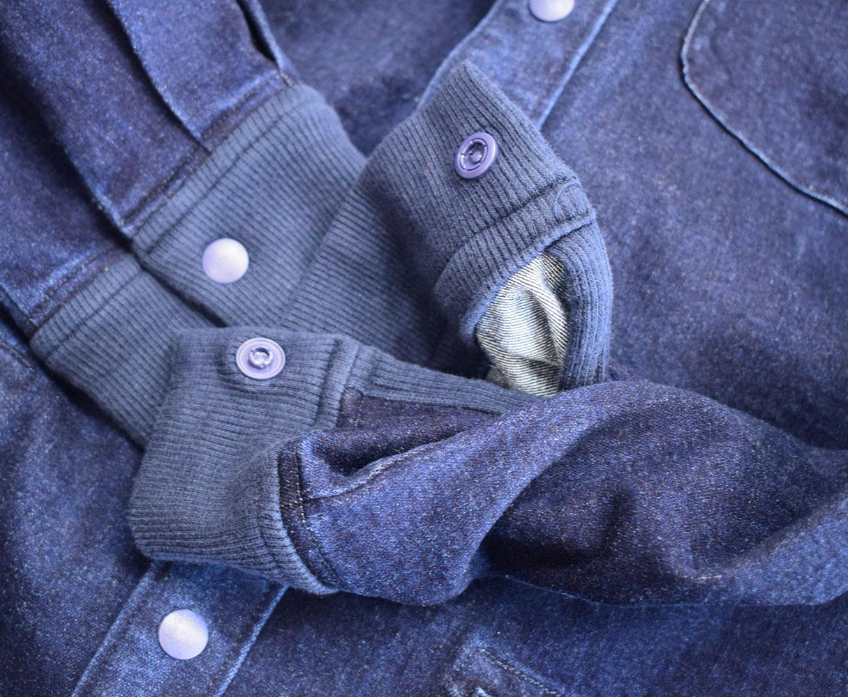 ジムマスター ストレッチデニム スナップボタンロングシャツ ジャケット ワンウォッシュ 59