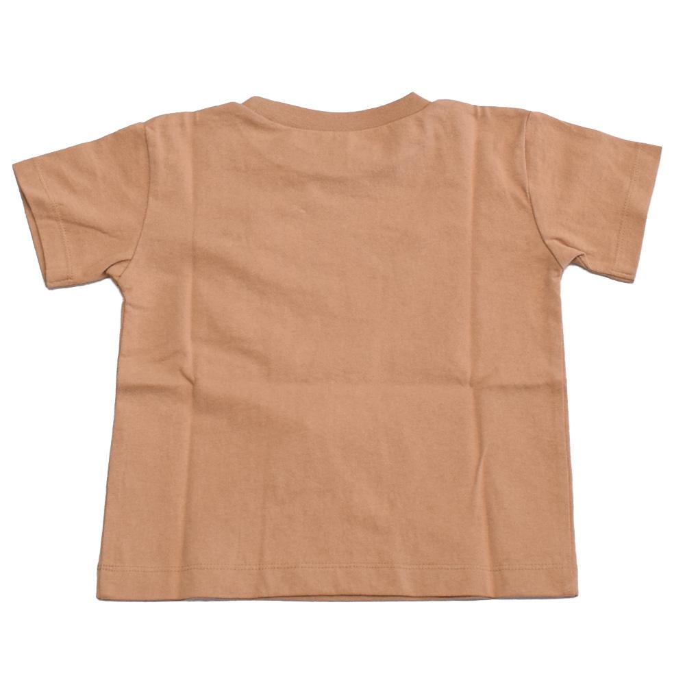 オーシャンアンドグラウンド ピグメントダイ ポケットTシャツ チャコール
