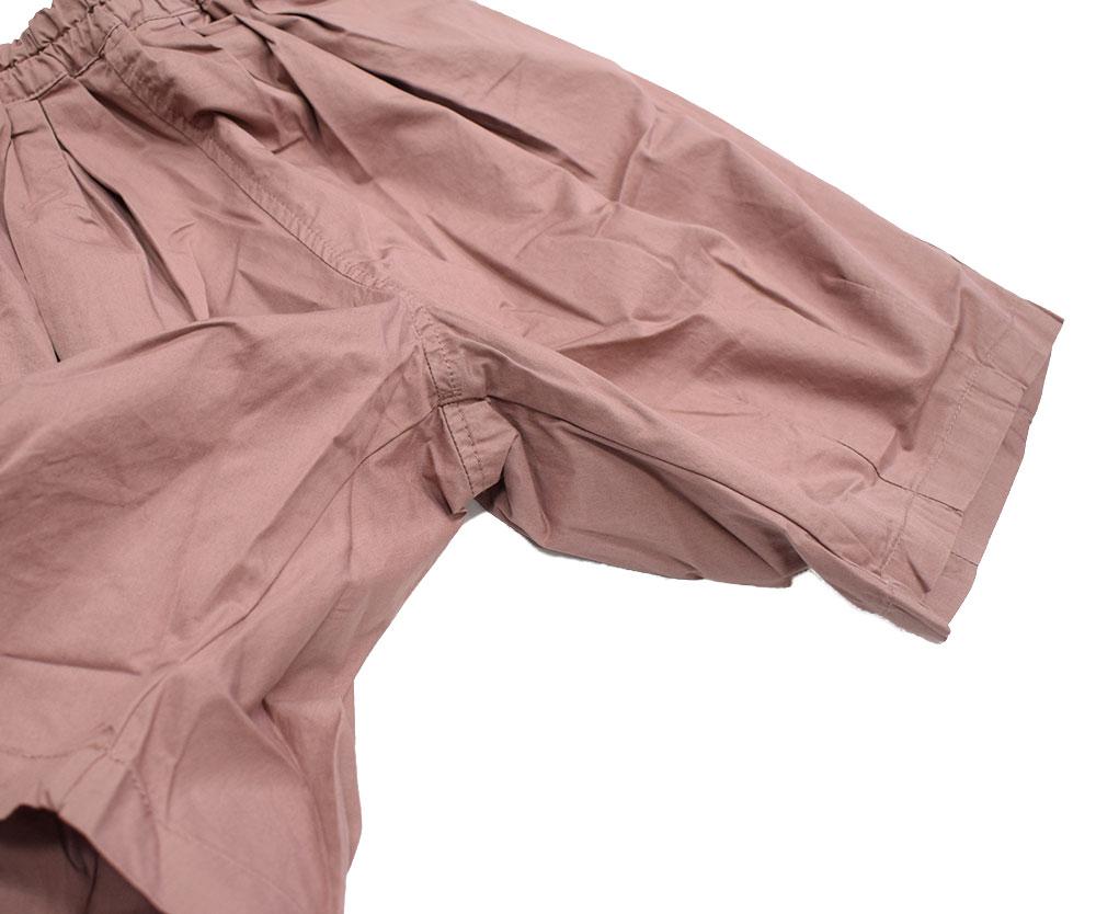 セラフ バルーンパンツ 6分丈 ピンク