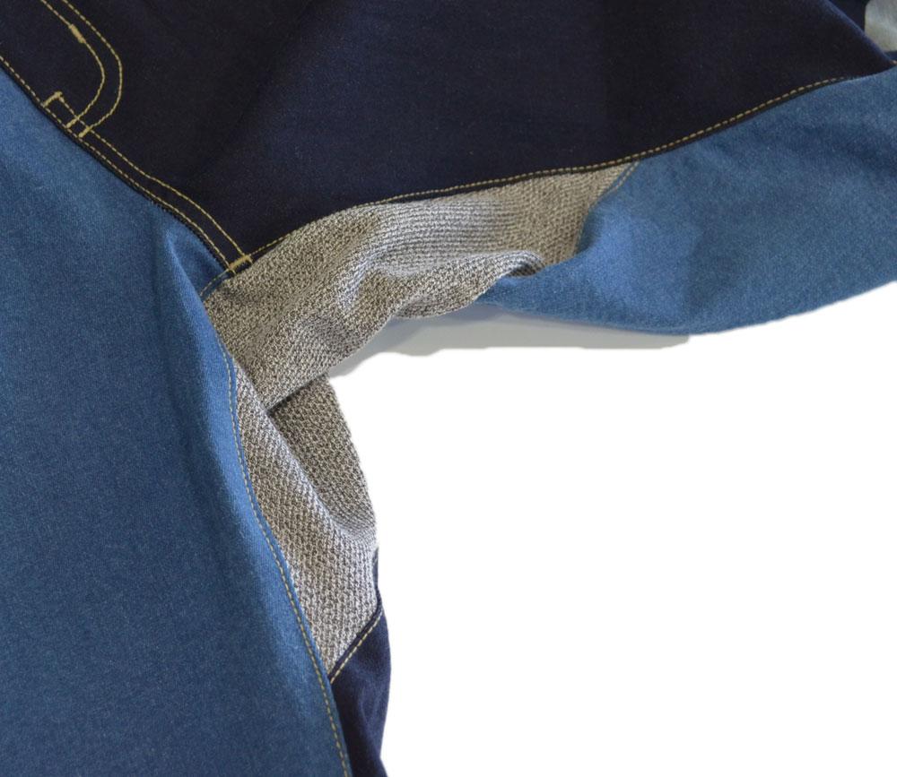 ジムマスター ストレッチデニムショートパンツ 中濃色クレイジー 91