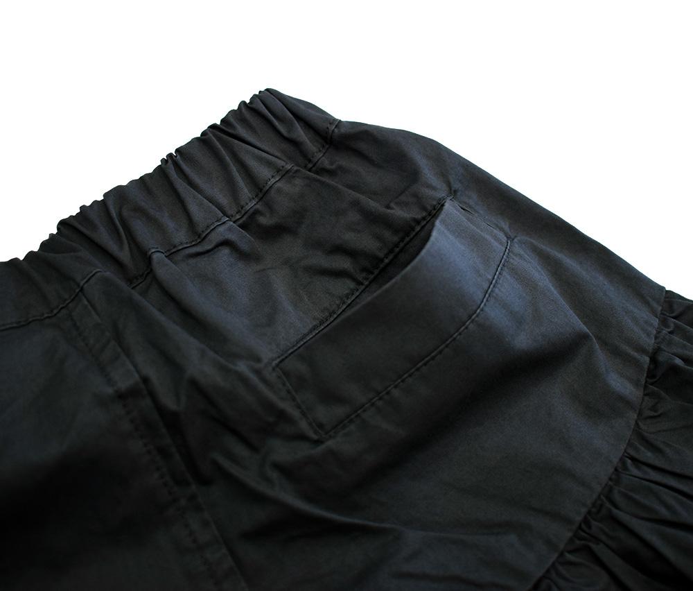 セラフ ボリュームフリルショートパンツ ブラック