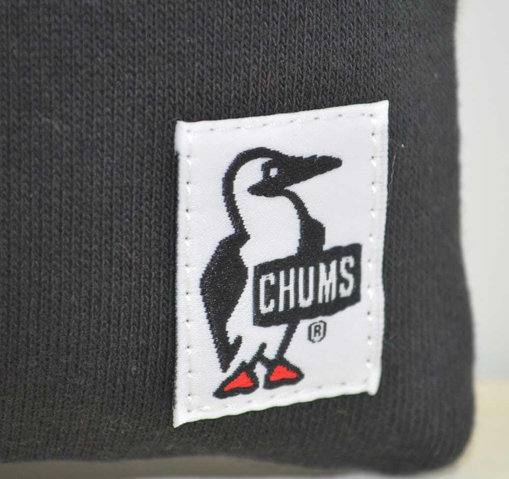 チャムス CHUMS スマートフォンショルダースウェットナイロン ブラック