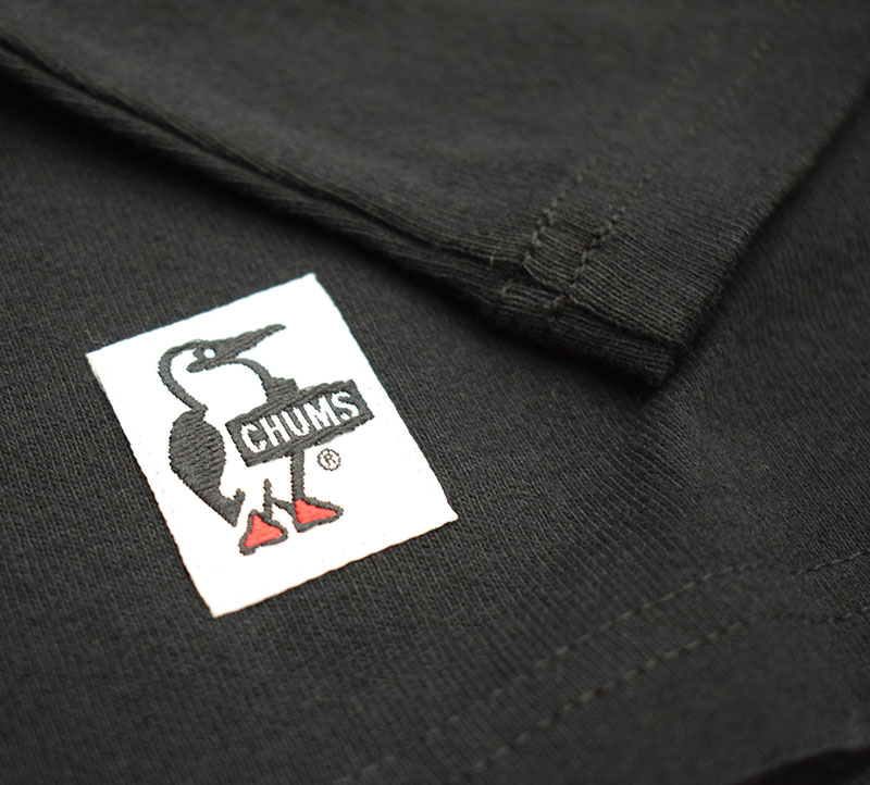 チャムス HWYCロングスリーブTシャツ ブラック
