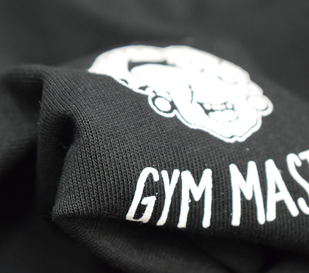 ジムマスター MAKE SMILE Tシャツ ブラック