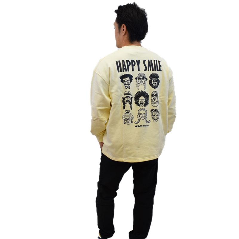 ジムマスター HAPPY SMILEスウェットビッグT 721608