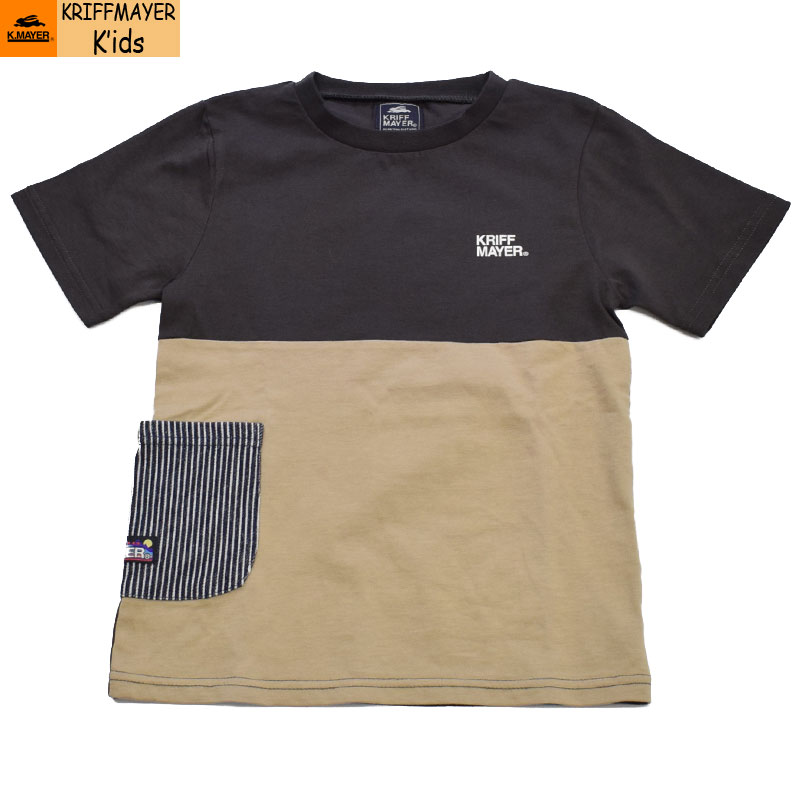 クリフメイヤー キッズ ヒコポケTシャツ チャコール 2047829