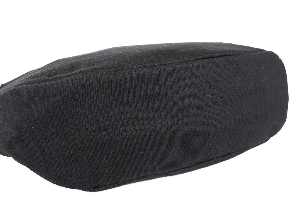 チャムス バナナダイアゴナルウエストバッグ スウェット ブラック CH60-2577