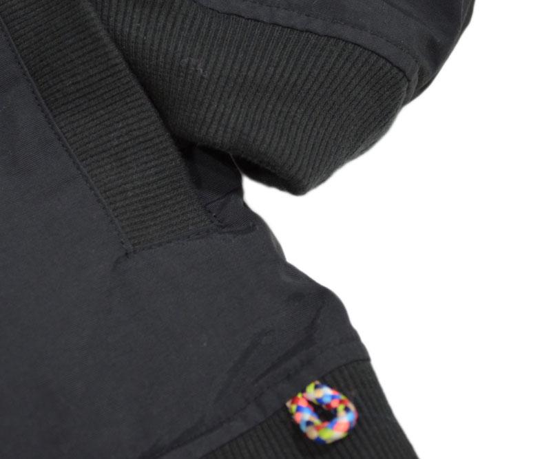 ジムマスター ボア×タスロン リバーシブルフードジャケット クレイジー