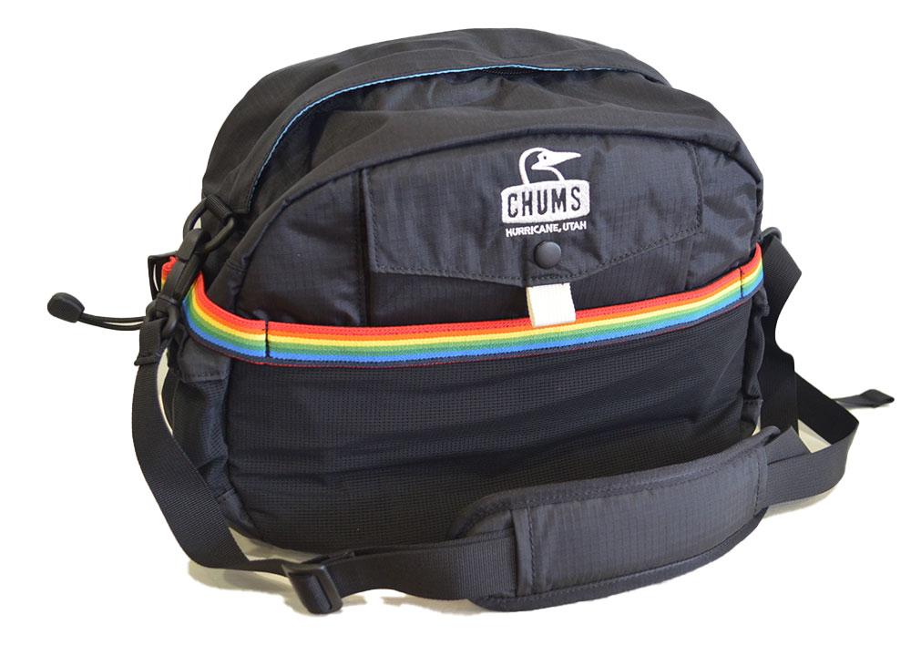 チャムス CHUMS スプリングデール13 リュック ブラック