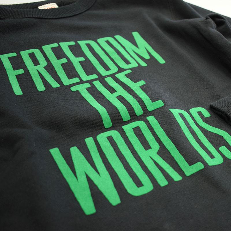 オフィシャルチーム FREEDOM スウェット ブラック