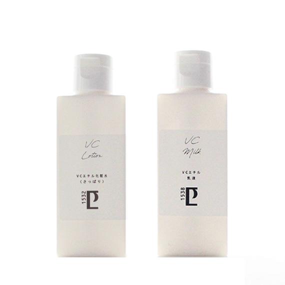 New*VCエチル化粧水(さっぱり/100ml)&乳液(50g)セット