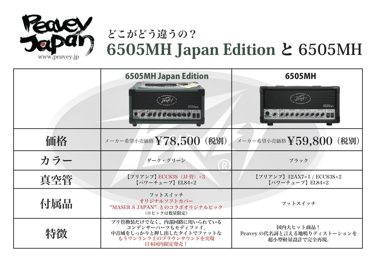 6505 MH Japan Edition【在庫有り即納】