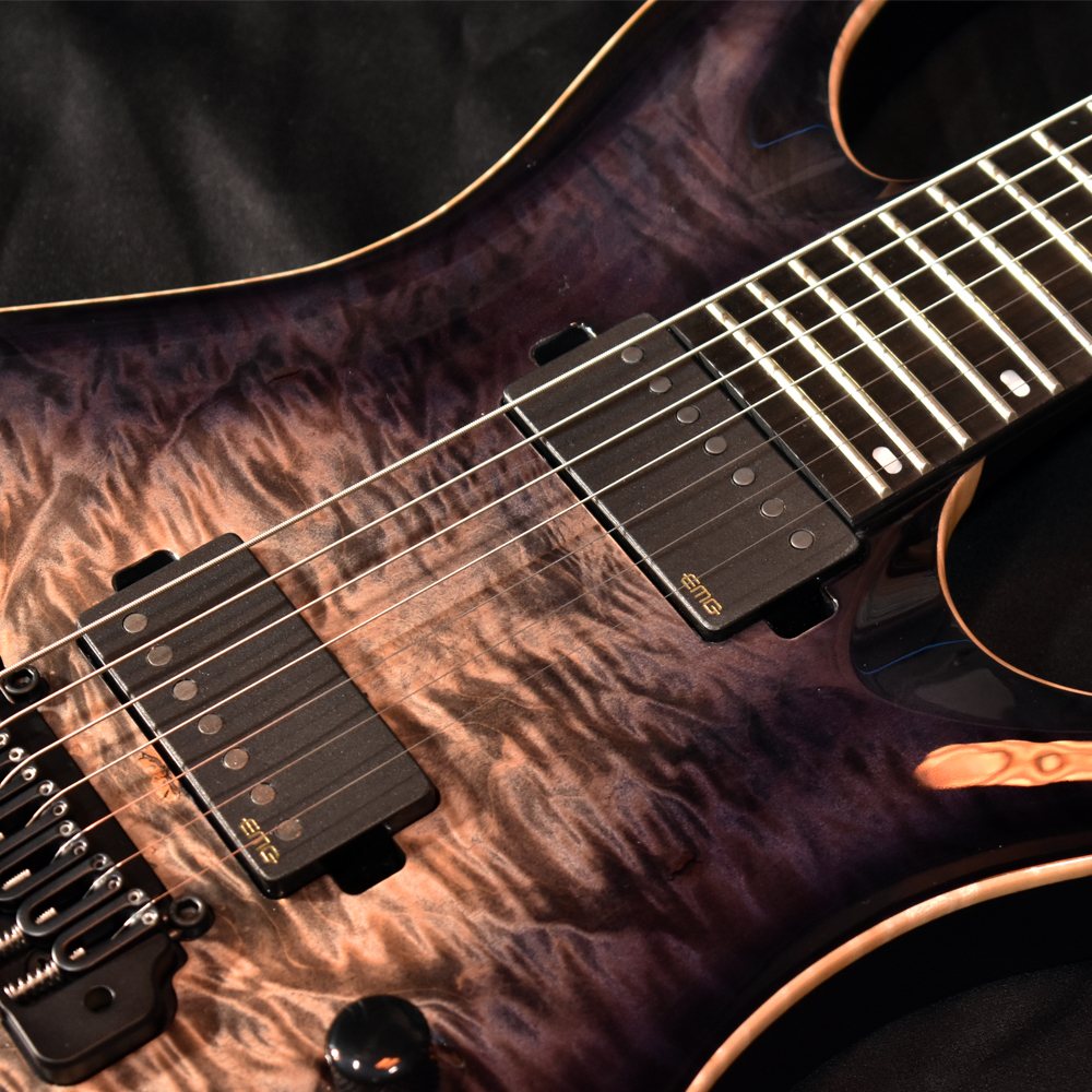 HADES 7 Custom Shop Black Burst