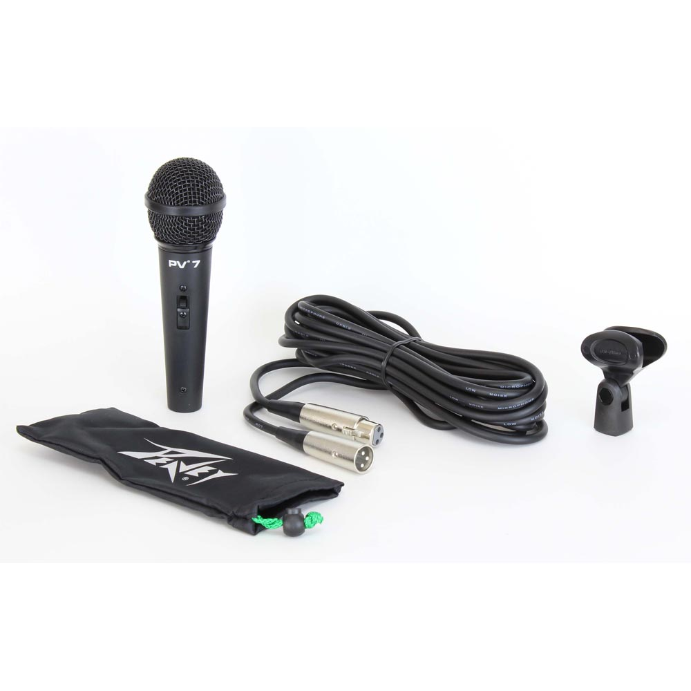 ダイナミックマイクロフォン PV7 (XLRマイクケーブル付き)