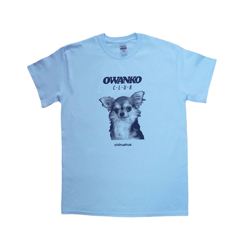 CHIHUAHUAS T-shirts - BLUE