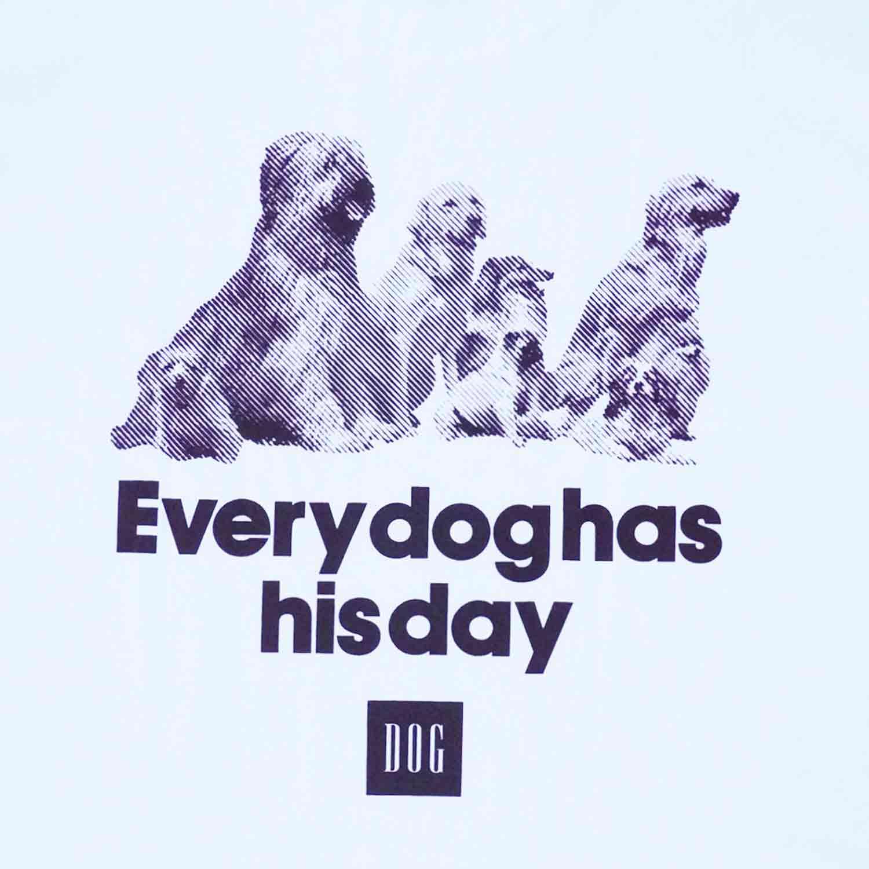 DOG LIFE T-shirts - WHITE