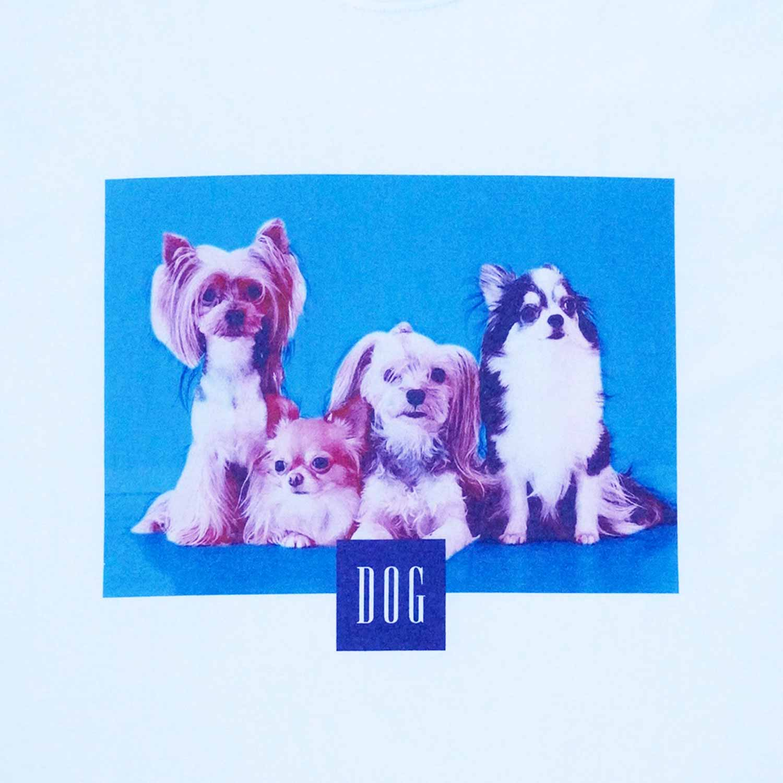 DOG JAPAN T-SHIRTS - WHITE