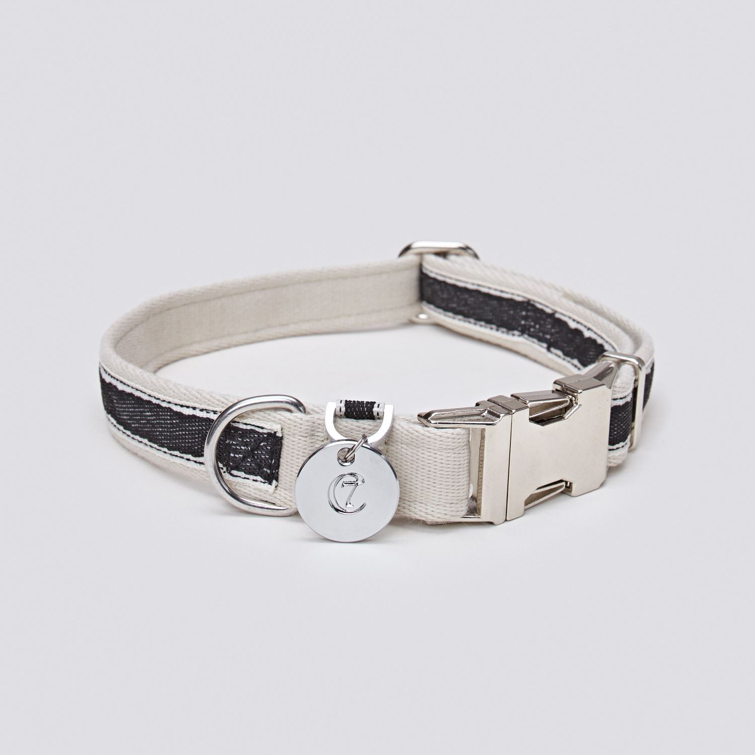 DOG COLLAR HUGO - BLACK