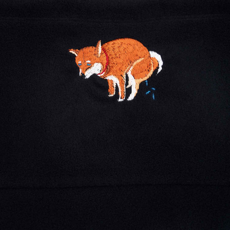 SHIBA-INU POOPING NECK WARMER - 赤柴
