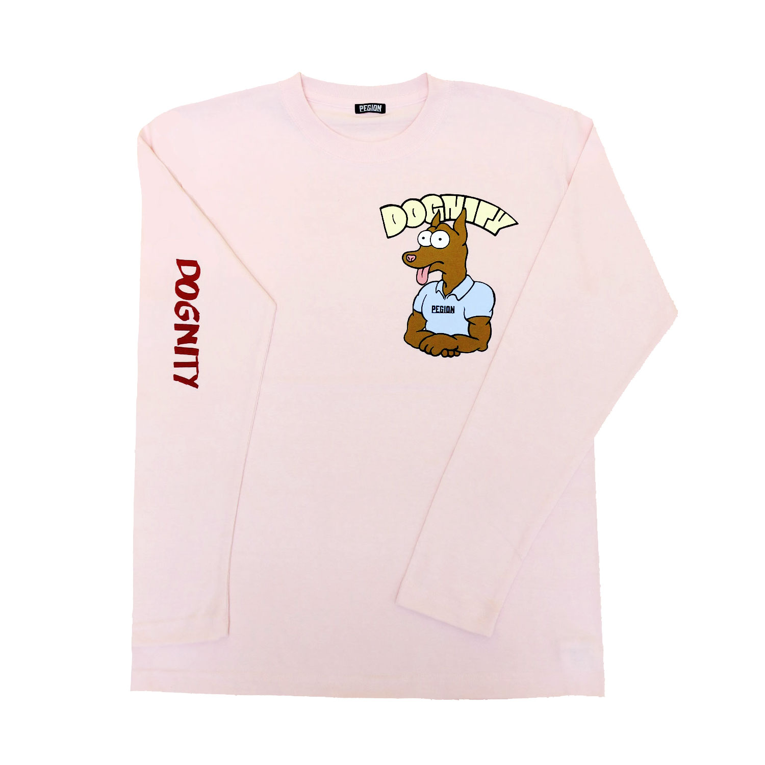 DOGNITY L/S T-SHIRTS PINK