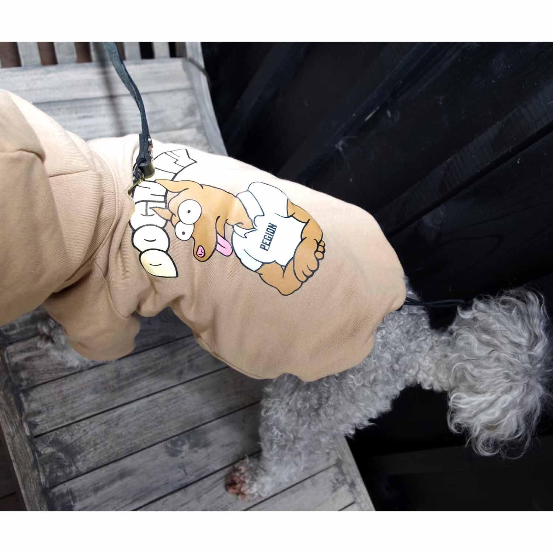 DOGNITY DOG PARKA BEIGE