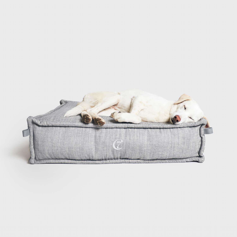 DOG BED COZY LIGHT - GREY