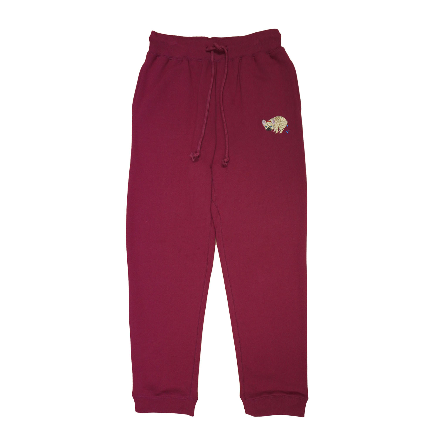 F/B POOPING SWEAT PANTS - FAWN