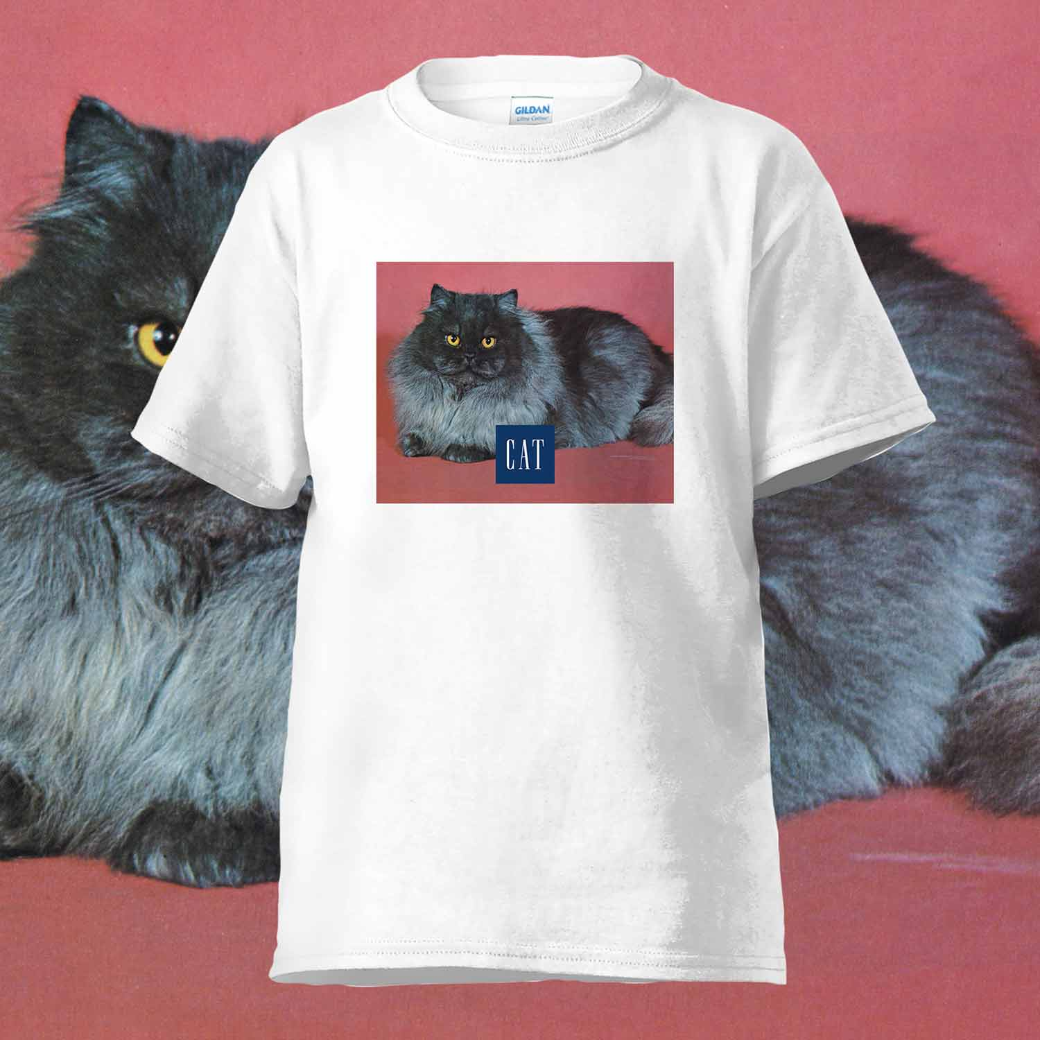 CAT T-SHIRTS RED