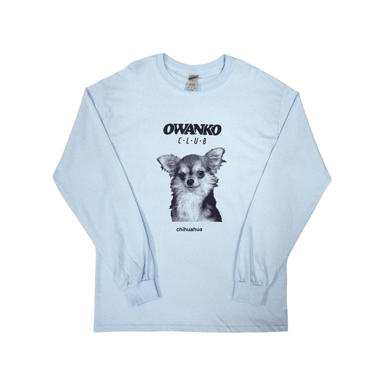 CHIHUAHUAS Long Sleeve T-shirts - BLUE