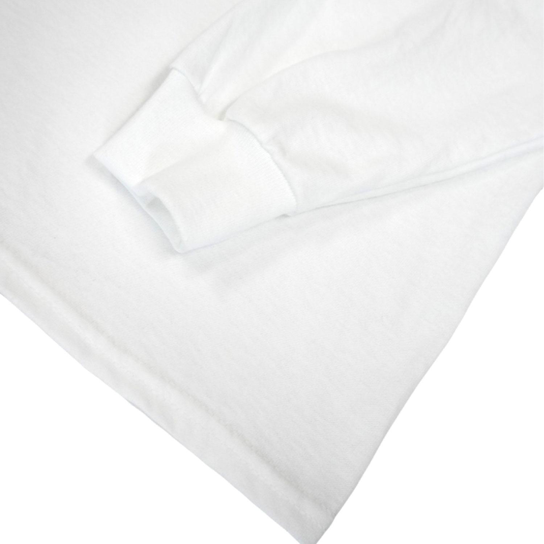 DALMATIAN Long Sleeve T-shirts - WHITE