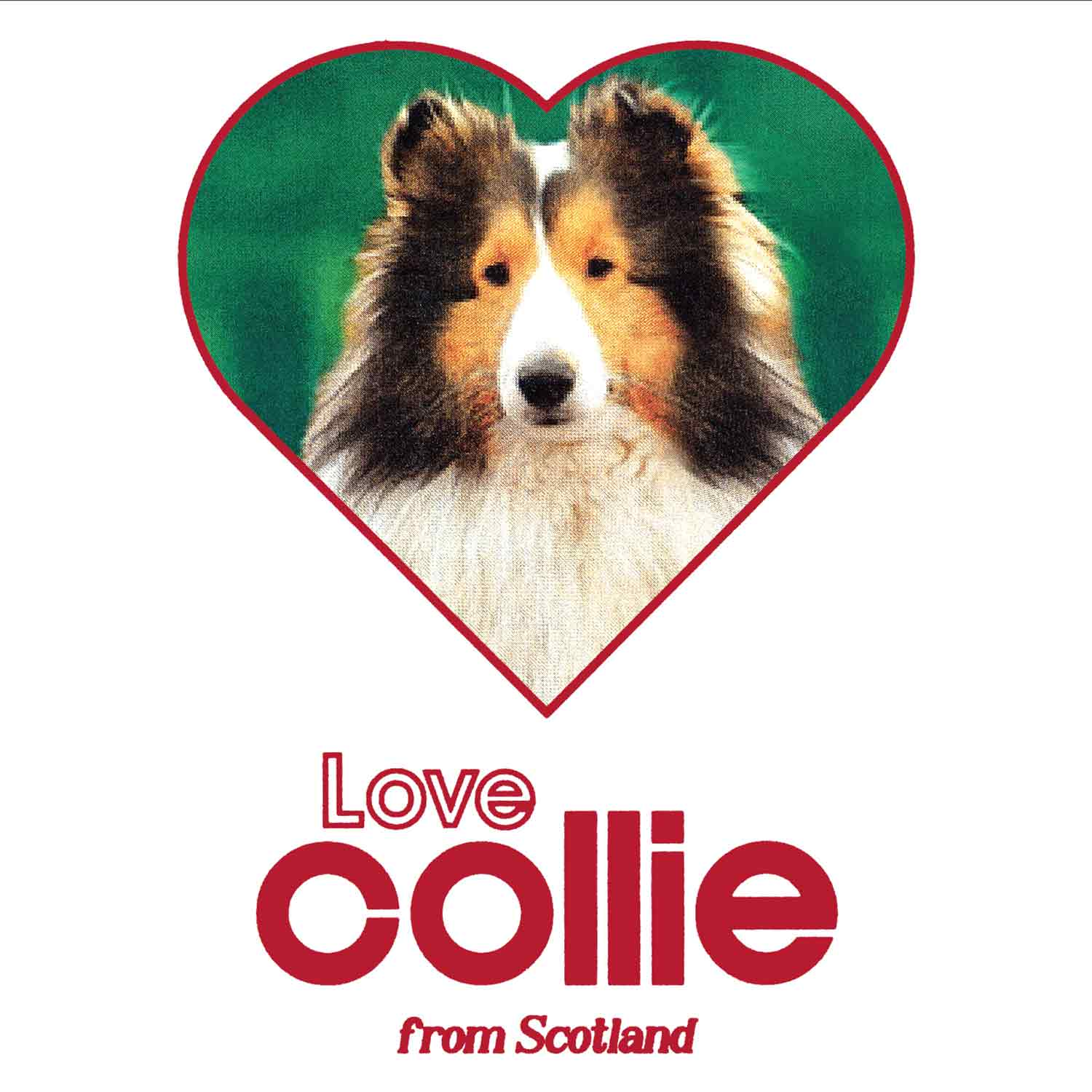 LOVE COLLIE T-SHIRTS