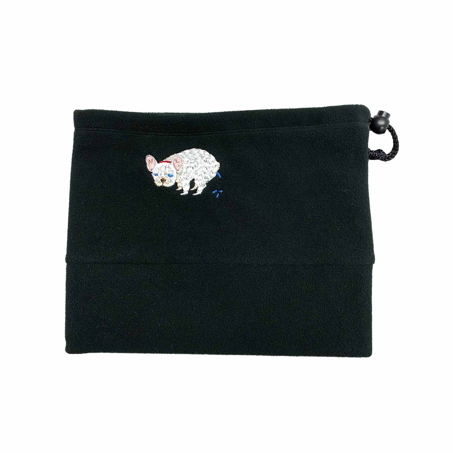 F/B POOPING NECK WARMER - CREAM