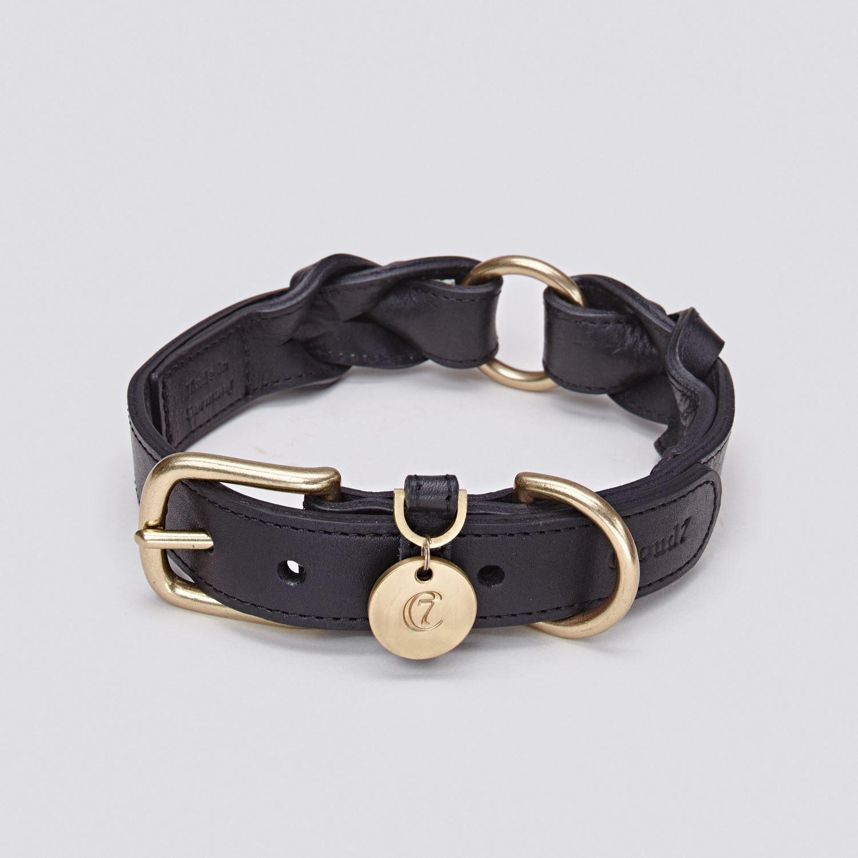 DOG COLLAR HYDE PARK BLACK