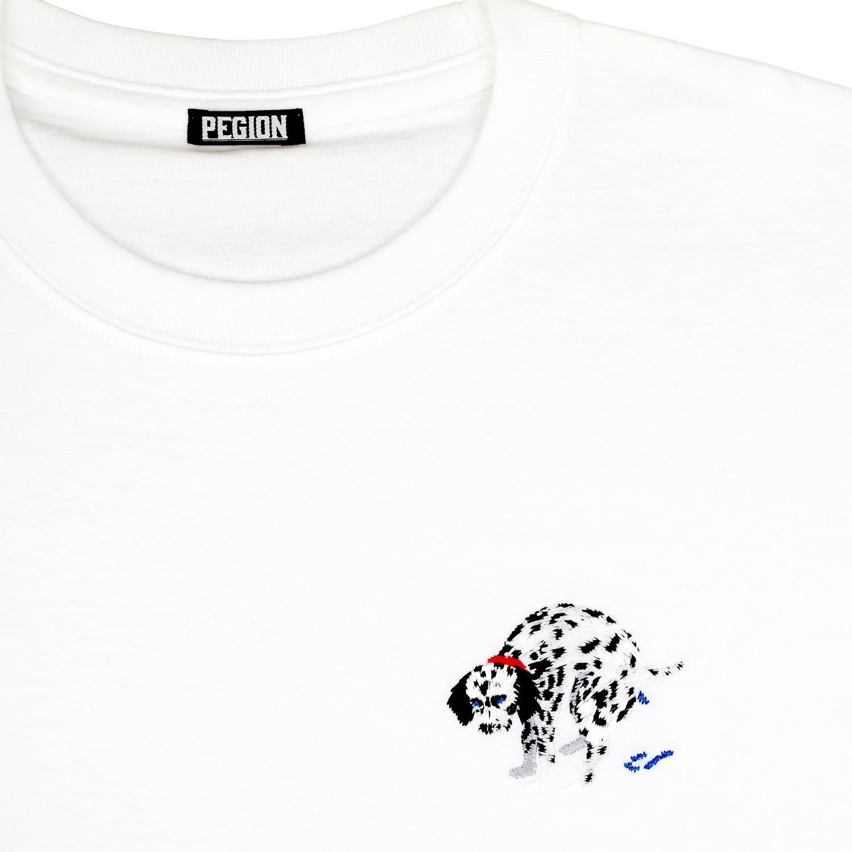 DALMATIAN T-SHIRTS WHITE