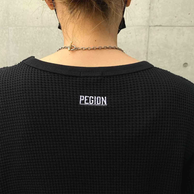 F/B CHINSURI LONG T - CREAM
