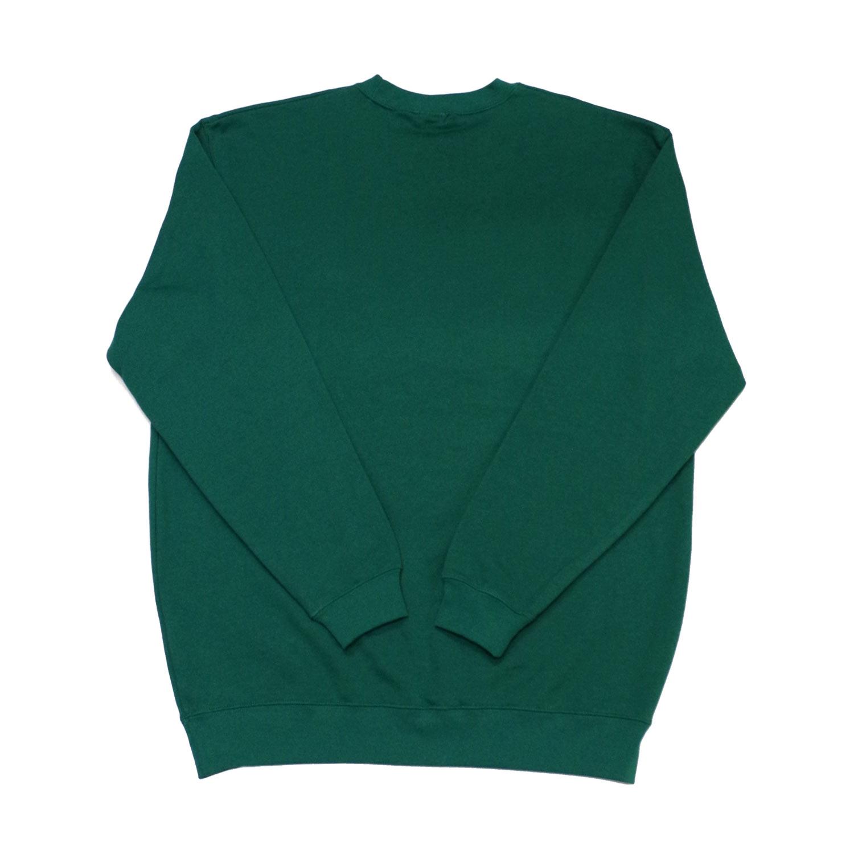 DALMATIAN ROUND NECK SWEAT TOP - GREEN