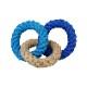 3Ring DOGTOY - BLUE
