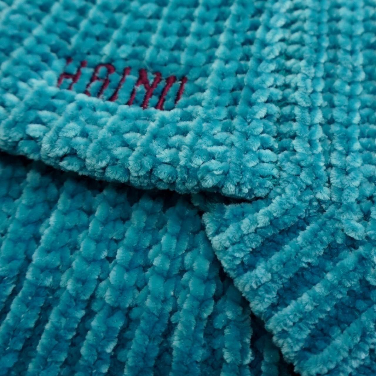 【予約商品】CHENILLE YARN SWEATER - BLUE