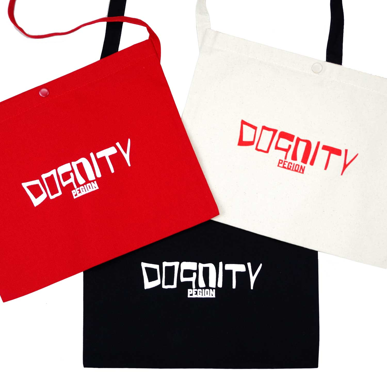 【CHARITY GOODS】DOGNITY SACOCHE RED